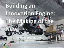 Key Note:  Building and Innovation Engine